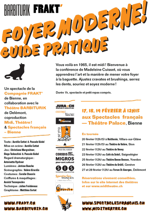 Foyer Art Vif Bienne : Frakt theaterkollectiv collectif scÉnique